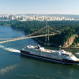 Cruise tour vancouver